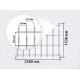 Ограждения из сварных сетчатых панелей серии LIGHT – perimetr 1.7