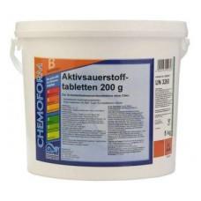 Аквабланк О2 в таблетках (200гр) 5кг