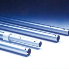 Штанга телескопическая алюминиевая 1.8-3.6 м крепление зажим