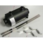 Теплообменник для подогрева воды бассейна на 13 кВт Pahlen HF 13 из нержавеющей стали